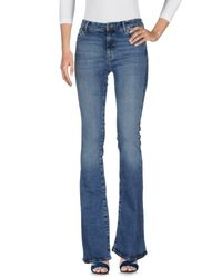 MiH Jeans Blue Denim Pants