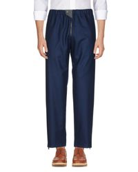 Balenciaga - Blue Casual Trouser for Men - Lyst