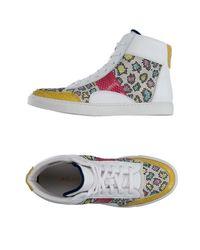 Alberto Moretti White High-tops & Sneakers