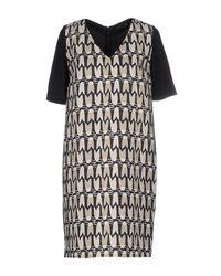 Piazza Sempione - Black Short Dresses - Lyst