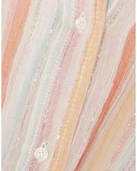 Robe courte Mes Demoiselles en coloris Pink