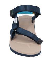 Suicoke Blue Sandals for men