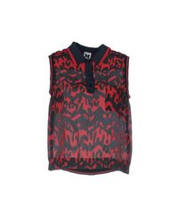 M Missoni Red Shirt