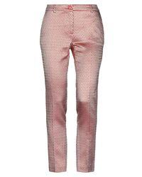 Pantalones Femme By Michele Rossi de color Red