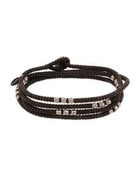 M. Cohen - Brown Bracelet for Men - Lyst