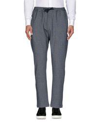 Pantalon SELECTED pour homme en coloris Gray