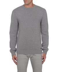 DSquared² - Gray Crewneck Sweaters for Men - Lyst