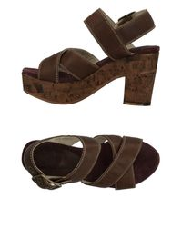 Fiorentini + Baker - Brown Sandals - Lyst