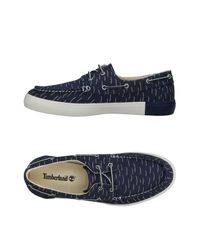 Timberland Blue Low-tops & Sneakers for men