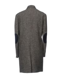 Grey Daniele Alessandrini Gray Coat for men