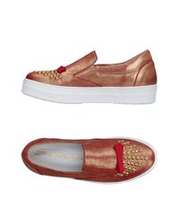 Sneakers & Tennis basses Giancarlo Paoli en coloris Metallic