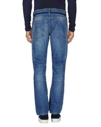 Valentino - Blue Denim Pants for Men - Lyst