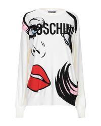 Pullover di Moschino in White