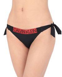 Bañador de slip Calvin Klein de color Black