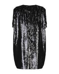 Minivestido MSGM de color Black