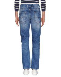 Guess Blue Denim Pants for men