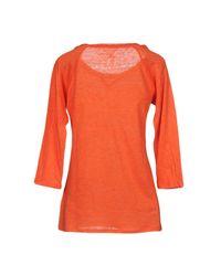 Majestic Filatures Orange T-shirt