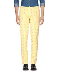 Yan Simmon Hose in Yellow für Herren