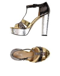MICHAEL Michael Kors Metallic Sandals