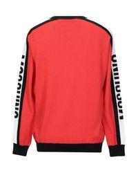 Pullover di Moschino in Red da Uomo