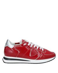 Philippe Model Red Low-tops & Sneakers
