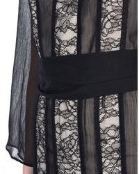 Alice + Olivia Black Long Dress