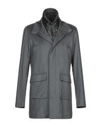 Herno Mantel in Gray für Herren