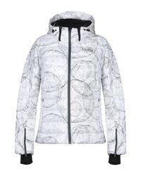 Colmar White Down Jacket