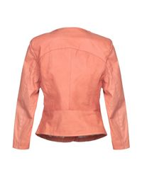 Giacca di Vintage De Luxe in Pink