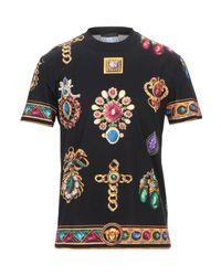 Versace T-shirts in Black für Herren