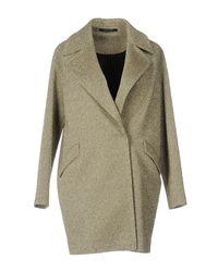 Tagliatore Green Overcoat
