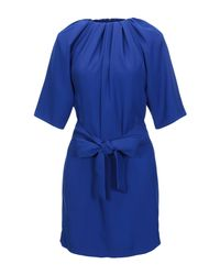 Maison Margiela Blue Kurzes Kleid