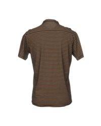 T-shirt di Grey Daniele Alessandrini in Brown da Uomo