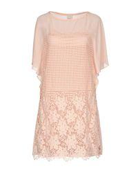 Vestito corto di Pinko in Pink