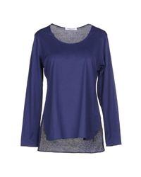 T-shirt Lamberto Losani en coloris Blue