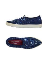 Alberto Guardiani Blue Low-tops & Sneakers
