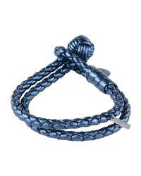 Bottega Veneta Blue Bracelet
