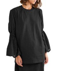 T-shirt di Mother Of Pearl in Black