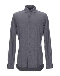 Camisa Xacus de hombre de color Gray