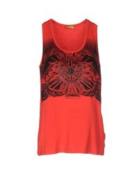 Versace Jeans Red Tank Top