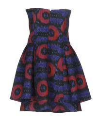 Emporio Armani Purple Short Dress