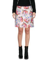 Emanuel Ungaro White Mini Skirt