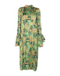 Marni Green Langes Kleid