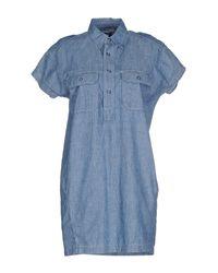 NLST Blue Short Dress