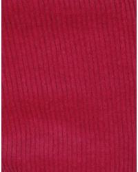 ViCOLO Red Casual Trouser