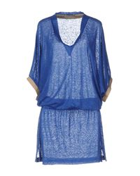 Cruciani Blue Knee-length Dress