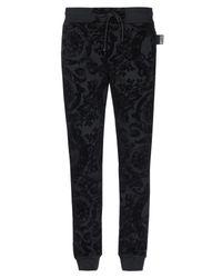 Versace Jeans Black Casual Trouser for men