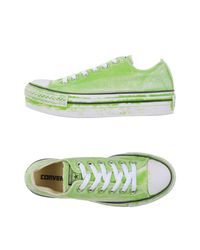 Converse Green Low-tops & Sneakers
