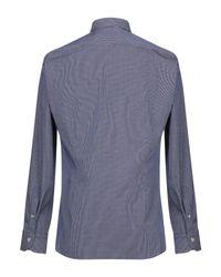 Chemise Domenico Tagliente pour homme en coloris Blue