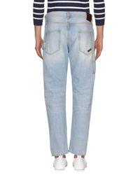 Ballantyne Blue Denim Pants for men